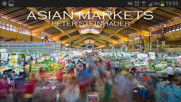 Asian Markets poster