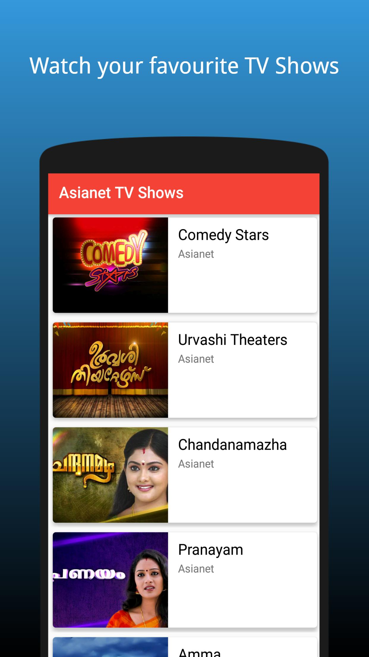 Malayalam TV Serials & TV Shows - 2018 | FREE for Android - APK Download