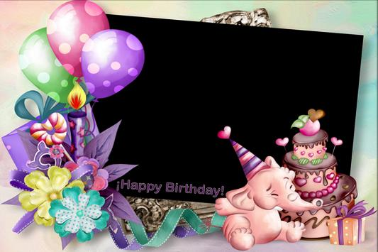 Birthday Frames apk screenshot