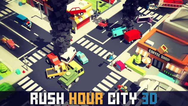 Rush Hour City 3D poster
