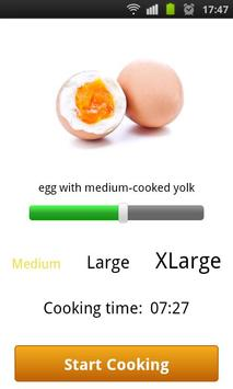 Perfectly Cooked Egg: Free poster