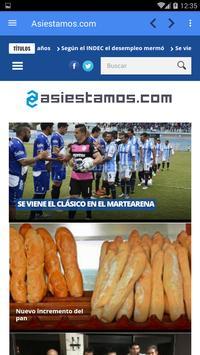 Asiestamos.com screenshot 2