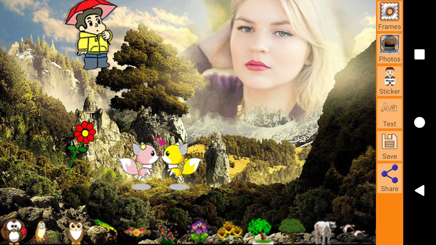 Fantasie Landschaft Bilderrahmen APK-Download - Kostenlos Fotografie ...
