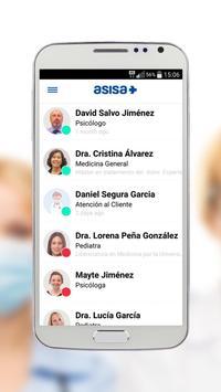 Chat Médico Asisa poster