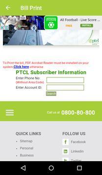 Bill Checker for Ptcl screenshot 3