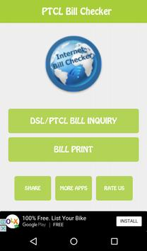 Bill Checker for Ptcl poster