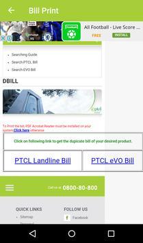 Bill Checker for Ptcl screenshot 2
