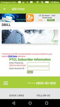 Bill Checker for Ptcl screenshot 7