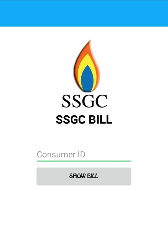 Image result for SNGPL BILL android app pic