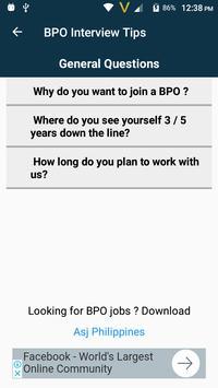 BPO Interview Coaching screenshot 2