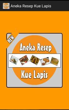 Various Layer Cake Recipe poster