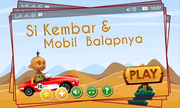 Si Kembar Dan Mobil Balapnya poster