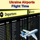Ukraine Airports Flight Time icon