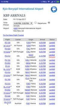 Ukraine Airports Flight Time screenshot 1