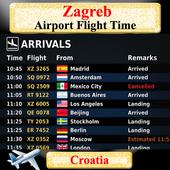 Zagreb Airport Flight Time icon