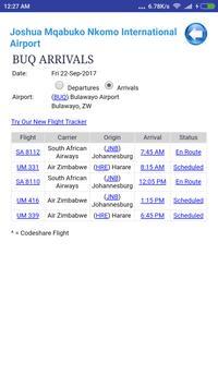 Zimbabwe Airports Flight Time screenshot 2