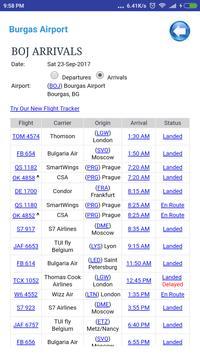 Bulgaria Airports Flight Time screenshot 1