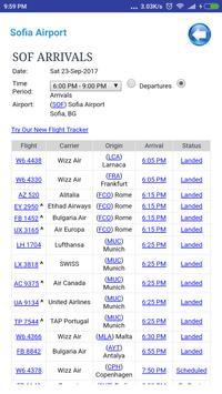 Bulgaria Airports Flight Time screenshot 2