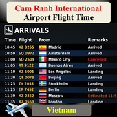 Cam Ranh Airport Flight Time for Android - APK Download