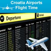 Croatia Airports Flight Time icon
