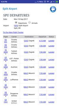 Croatia Airports Flight Time screenshot 2