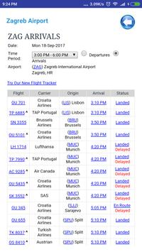 Croatia Airports Flight Time screenshot 4