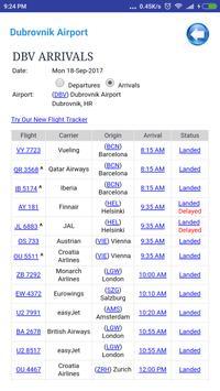 Croatia Airports Flight Time screenshot 5
