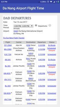 Da Nang Airport Flight Time screenshot 1