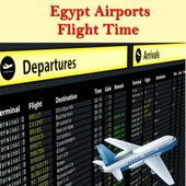 Egypt Airports Flight Time icon