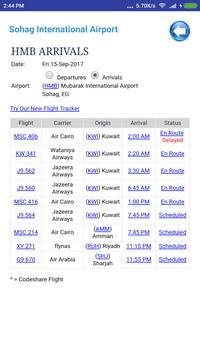 Egypt Airports Flight Time screenshot 2