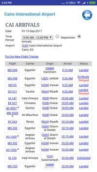 Egypt Airports Flight Time screenshot 3