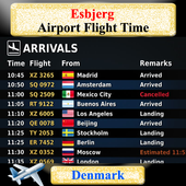 Esbjerg Airport Flight Time icon