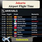 Jakarta Airport Flight Time icon