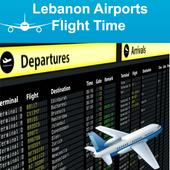 Lebanon Airports Flight Time icon