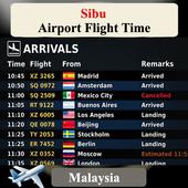 Sibu Airport Flight Time icon