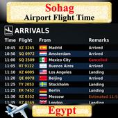 Sohag Airport Flight Time icon