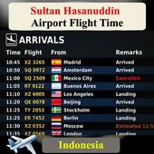 Sultan Hasanuddin Airport Flight Time icon