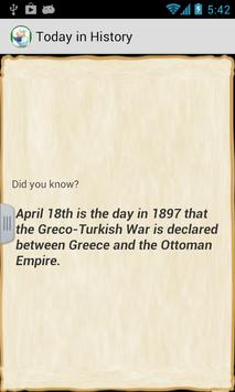 Today in History poster