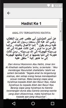 Terjemah Arbain Nawawi apk screenshot