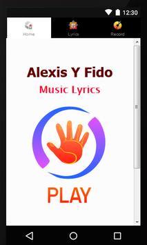 Lyics Alexis Y Fido poster