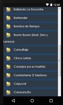 Lyics Alexis Y Fido screenshot 3