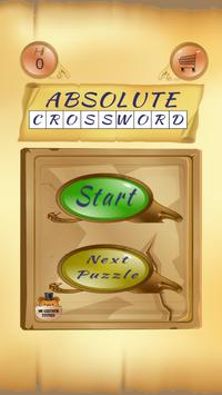 Absolute Crossword poster
