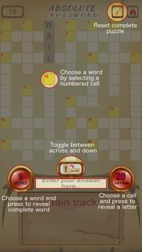 Absolute Crossword screenshot 1