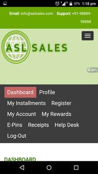 asl sales apk screenshot