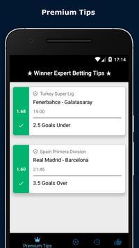 Winner Expert Betting Tips apk screenshot