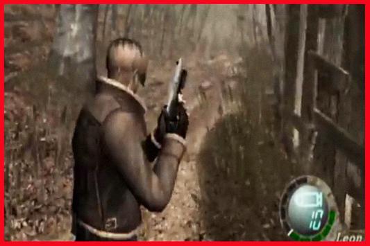 Trick Resident Evil 4 poster