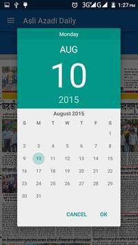 Asli Azadi Daily apk screenshot