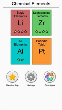 Chemical elements and periodic table symbols quiz apk download chemical elements and periodic table symbols quiz apk screenshot urtaz Gallery