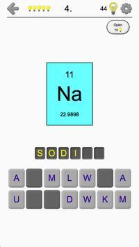 Chemical elements and periodic table symbols quiz apk download chemical elements and periodic table symbols quiz poster urtaz Gallery