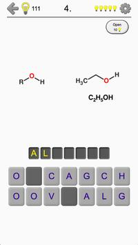 Functional Groups - Quiz about Organic Chemistry apk screenshot